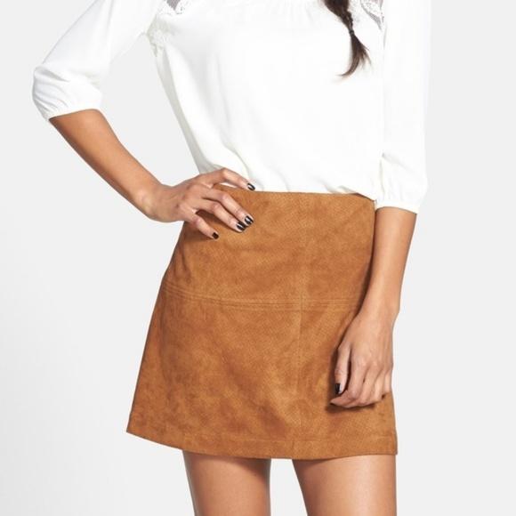 Jolt Dresses & Skirts - NWT JOLT - FAUX SUEDE MINI SKIRT size 3